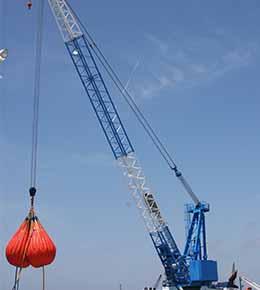 Techcrane L300 150 Ton Marine Offshore Crane