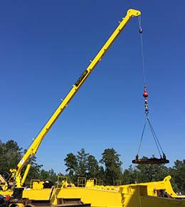 Techcrane F7 3.5 Ton Marine Offshore Crane