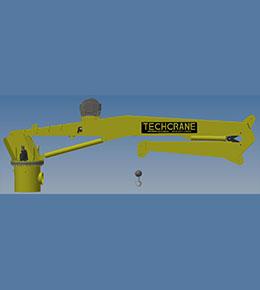 Techcrane K30 Marine Offshore Crane