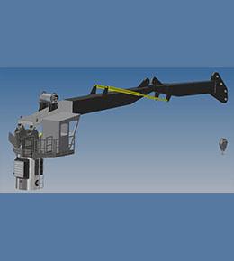Techcrane K80 Marine Offshore Crane