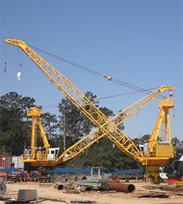 Techcrane L120 75 Ton Marine Offshore Crane