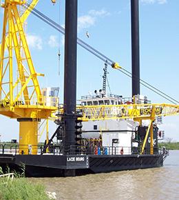 Techcrane L200 110 Ton Marine Offshore Crane