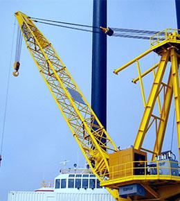 Techcrane L500 250 Ton Marine Offshore Crane