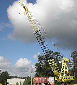 Techcrane L80 50 Ton Marine Offshore Crane
