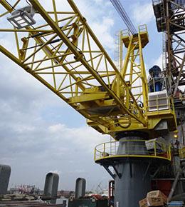Techcrane L800 450 Ton Marine Offshore Crane