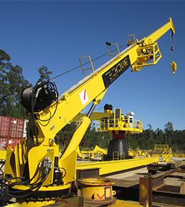 Techcrane T10 6 Ton Marine Offshore Crane
