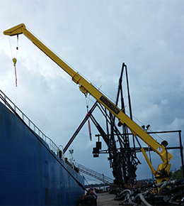 Techcrane T30 20 Ton Marine Offshore Crane