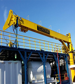 Techcrane T60 40 Ton Marine Offshore Crane