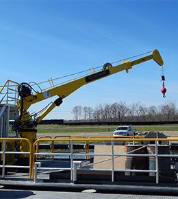 Techcrane T7 3.5 Ton Marine Offshore Crane
