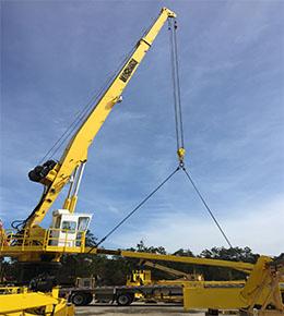 Techcrane F120 75 Ton Marine Offshore Crane