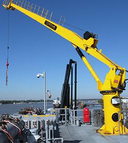 Techcrane F25 14 Ton Marine Offshore Crane